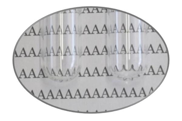 Azfine Lab ガラスチューブ「shapely」は、管底まで湾曲が少なく、試験確認性に優れております
